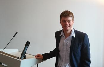 Der Eröffnungsredner Professor Dr. Falk Hoffmann. Foto: ZQ / M. Frank